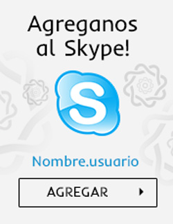 Banner Footer SKYPE
